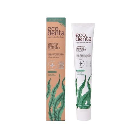 Ecodenta Organic Whitening Spirulina zubní pasta 75 ml