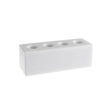 Stojánek na mezizubní kartáčky – šedý