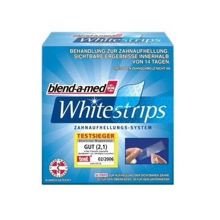 Blend-a-med Whitestrips bělící zubní pásky 56 ks