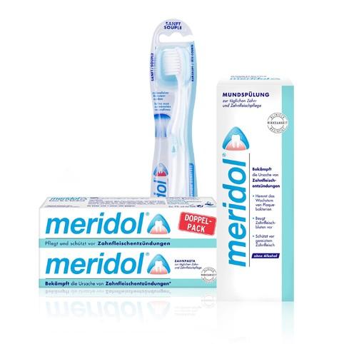Meridol sada kompletní péče o zuby a dásně