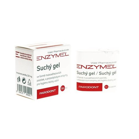 Enzymel Parodont Gel v tabletách 60 ks