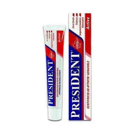 PresiDENT Active zubní pasta 75 ml