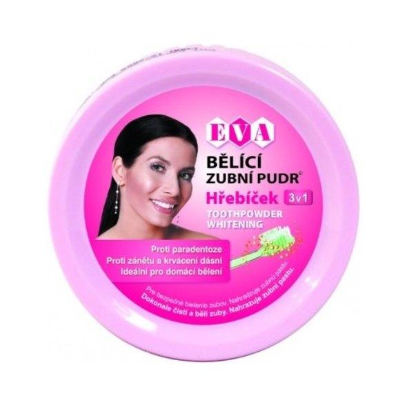 Eva Bělicí zubní pudr hřebíček 30 g