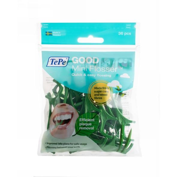 TePe Good Mini Flosser zubní nit v mečíku 36 ks