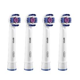 Oral-B 3D White EB 18-4 náhradní kartáčky 4 ks