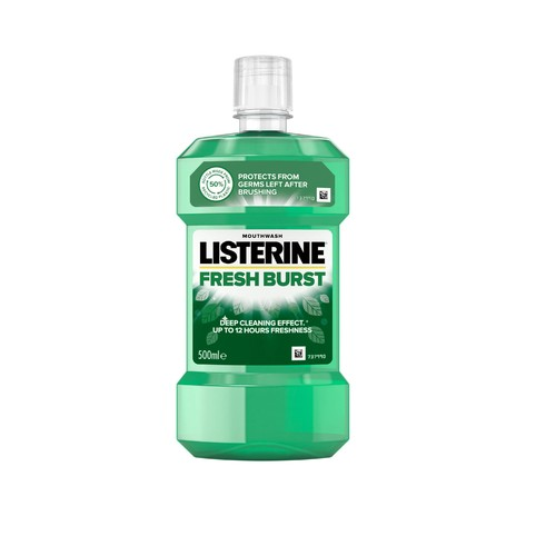 Listerine Fresh Burst ústní voda 500 ml