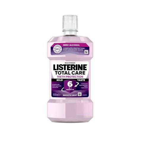Listerine Total Care Teeth Protection Mild Taste ústní voda 500 ml