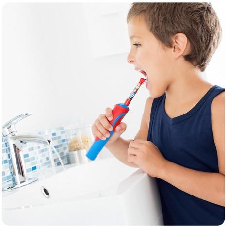 Oral-B Stages Kids EB 10-4 MN náhradní hlavice 4 ks - AUTÍČKO