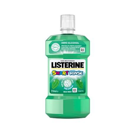Listerine Smart Rinse Mint ústní voda pro děti 250 ml