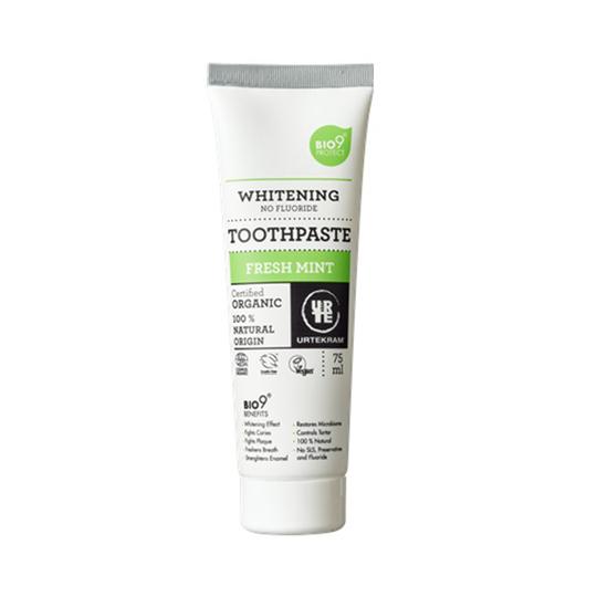 Urtekram Whitening Freshmint zubní pasta 75 ml