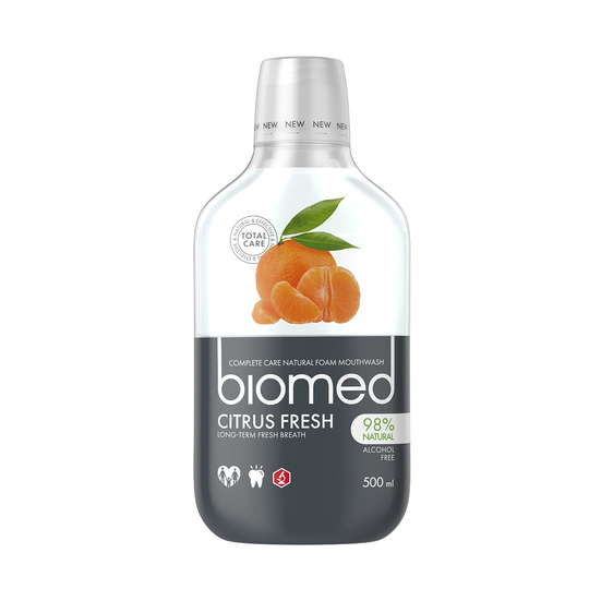 Biomed Citrus Fresh ústní voda 500 ml