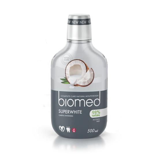 Biomed Superwhite ústní voda 500 ml