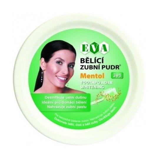 Eva Bělicí zubní pudr mentol 30 g
