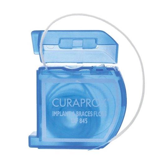 Curaprox DF 845 dentální nit na rovnátka a implantáty 50 ks