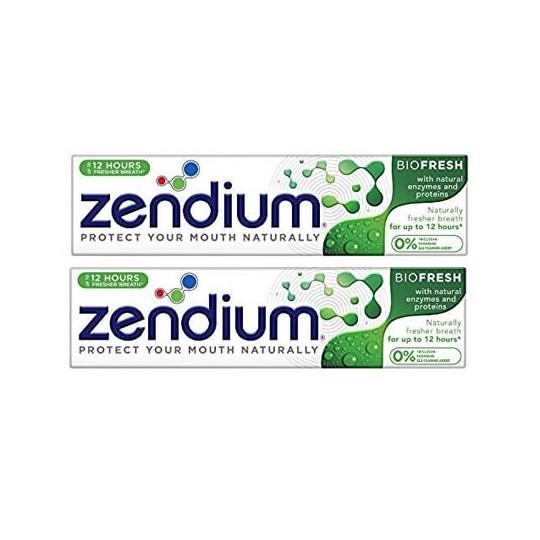 Zendium Biofresh zubní pasta 2×75 ml