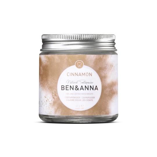 Ben&Anna Powder Cinamon zubní pudr 45 g