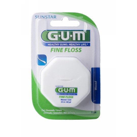 GUM Fine waxed voskovaná zubní nit 55 m