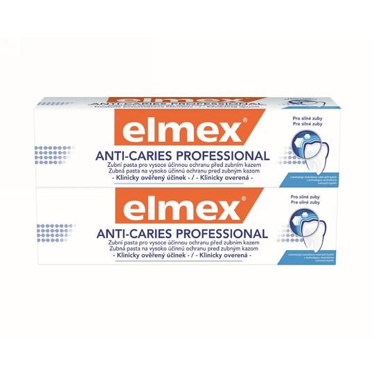Elmex Anti Caries Professional 2x75 ml + Elmex 400 ml