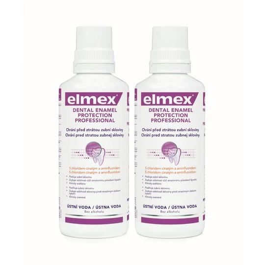 Elmex Dental Enamel Protection Professional 2x 400 ml + Elmex 400 ml