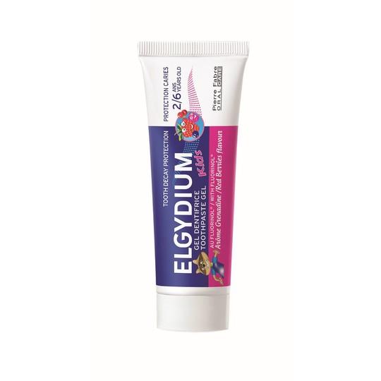 Elgydium Kids Red Berries dětská zubní pasta 50 ml