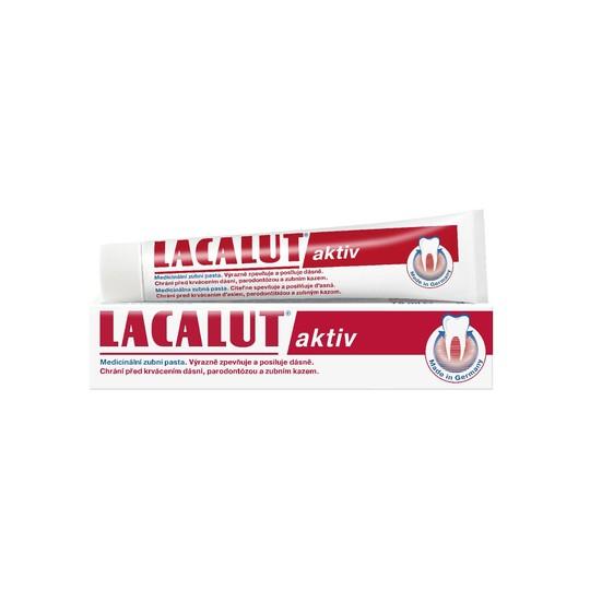Lacalut Aktiv zubní pasta 75 ml