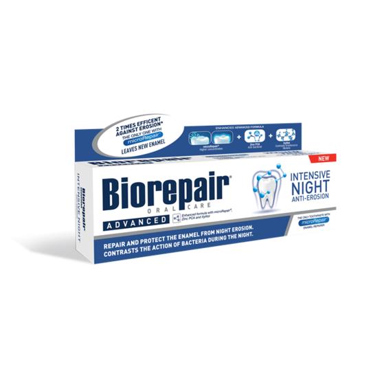 BioRepair Advanced Intensive Night zubní pasta 75 ml