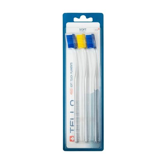 Tello 4920 Soft zubní kartáček 3 ks