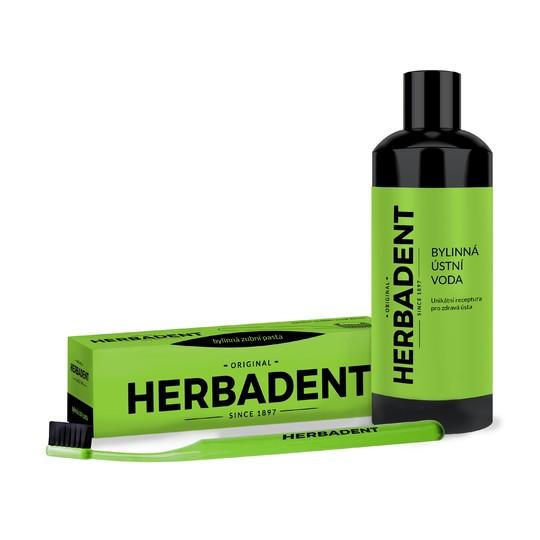 Herbadent Set Basic pro ústní hygienu