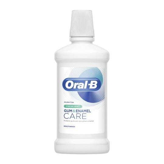 Oral-B Gum & Enamel Care Fresh Mint ústní voda 500 ml