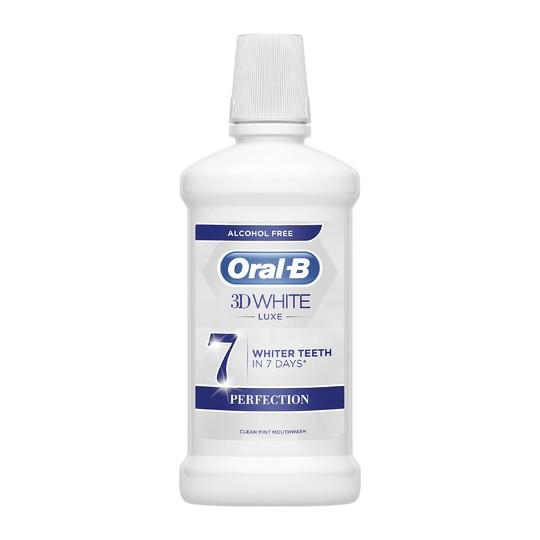 Oral-B 3D White Luxe Perfection ústní voda 500 ml