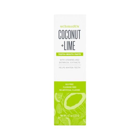 Schmidt's Coconut + Lime zubní pasta 100 ml