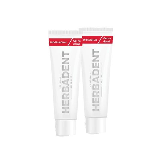 Herbadent Professional gel na dásně 2x25 g
