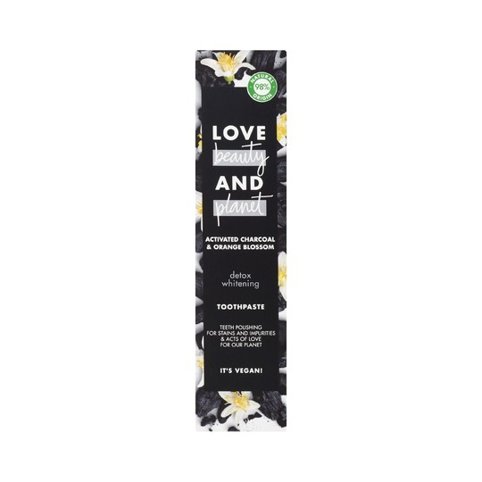 Love Beauty & Planet Activated Charcoal zubní pasta 75 ml