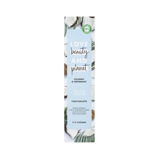 Love Beauty & Planet Coconut zubní pasta 75 ml