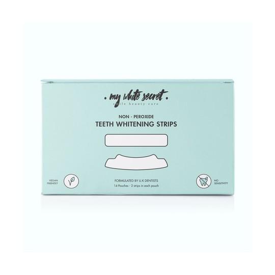 My White Secret Whitening Strips bělicí pásky 14 ks
