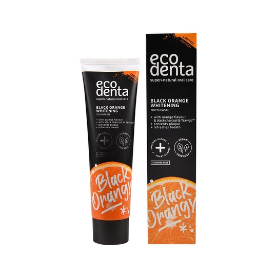 Ecodenta Black Orange Whitening zubní pasta 100 ml