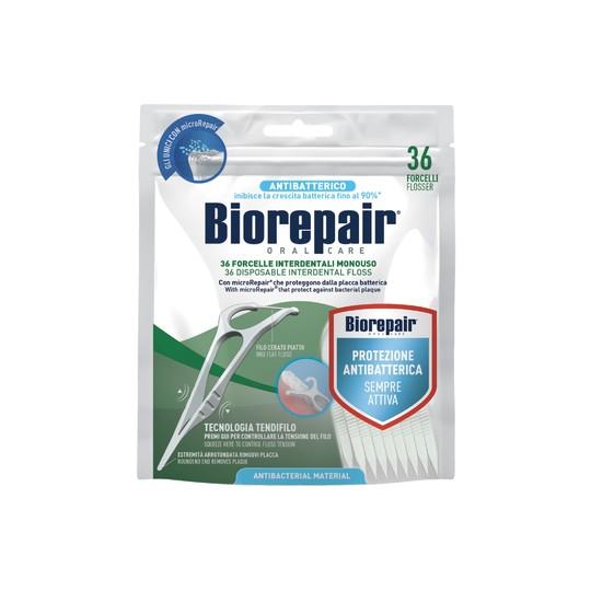 BioRepair Flosser párátko se zubní nití 36 ks