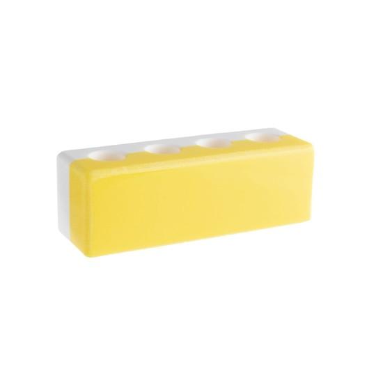 Stojánek na mezizubní kartáčky – žlutý