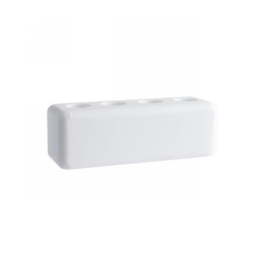 Stojánek na mezizubní kartáčky – bílý