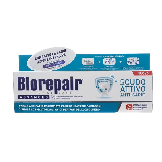 BioRepair Advanced Active Shield zubní pasta 75 ml
