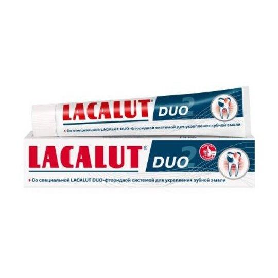 Lacalut DUO zubní pasta 75ml