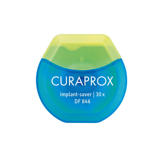 Curaprox DF 846 dentální nit implant saver 30 ks