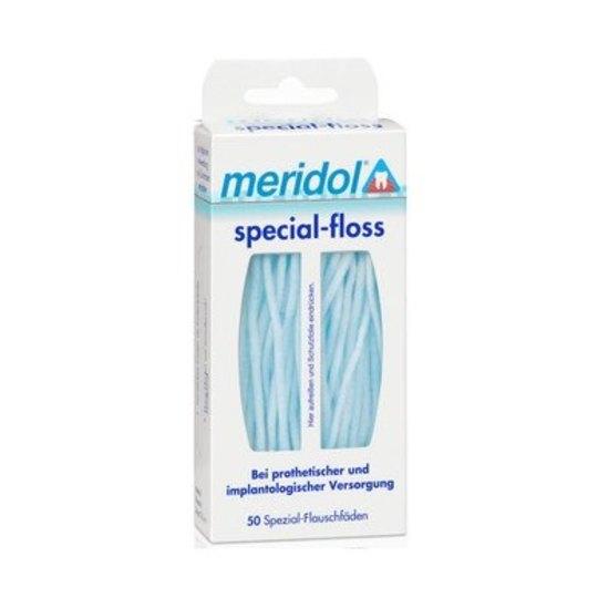 Meridol zubní nit Special Floss 50 ks