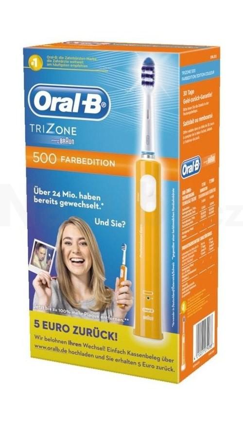 Braun Oral B TriZone 500 D16 ORANGE zubní kartáček