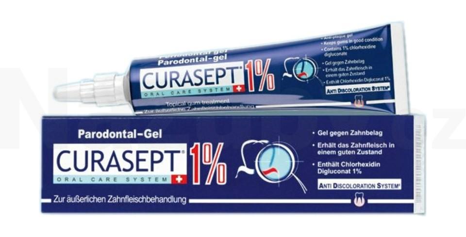 Fotografie Curaprox Curasept ADS 310 antibakteriální parodontální gel proti zubnímu plaku 30 ml