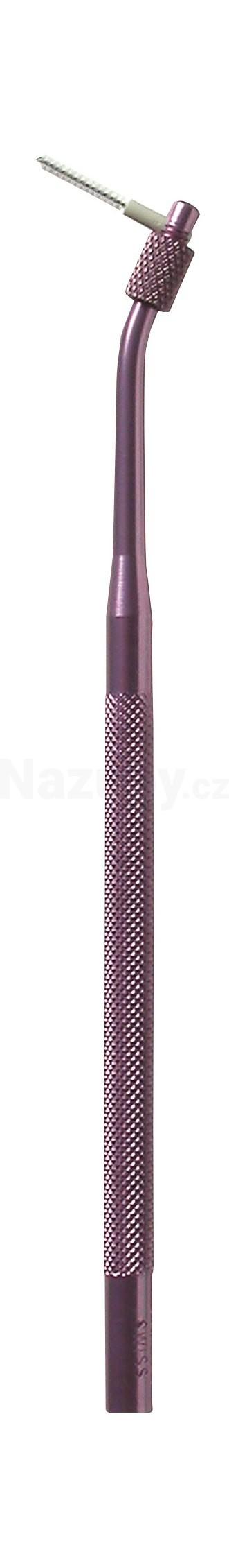 Curaprox UHS411 hliník.držák - růžový