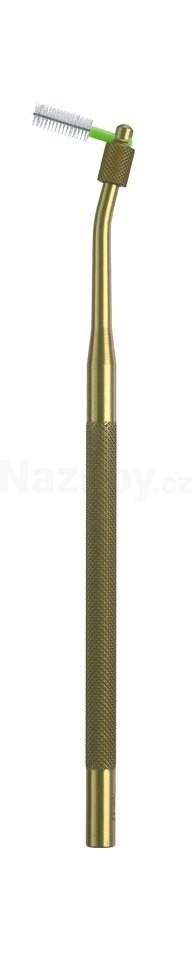 Curaprox UHS 412 držák mezizub.kartáčků zlatý