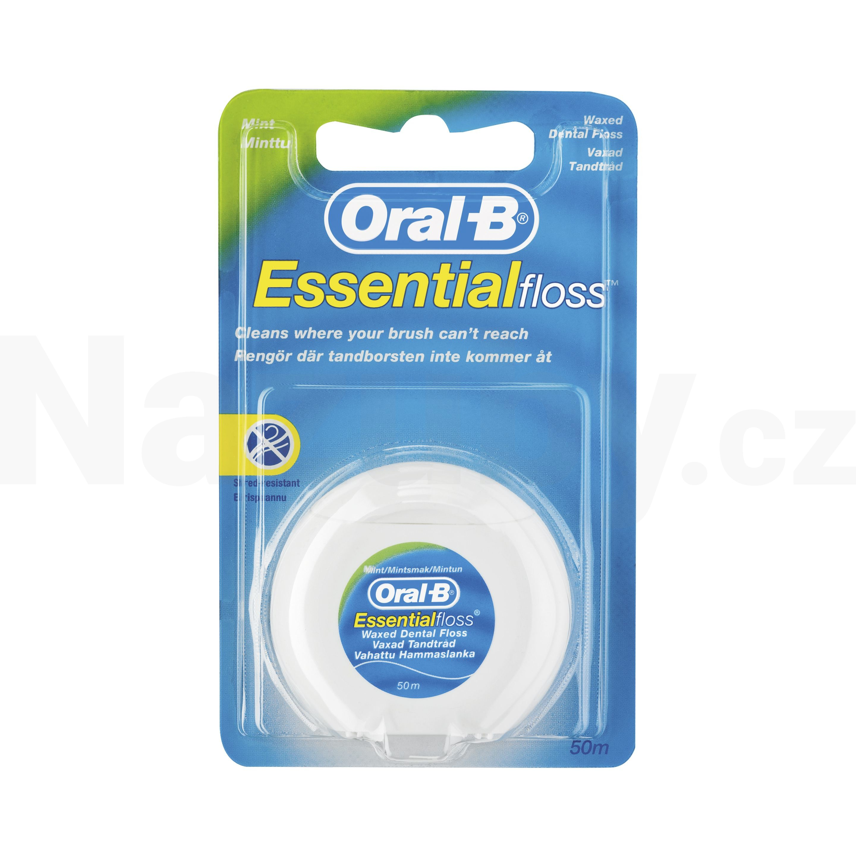 Oral-B Essential Floss zubní nit 50 m