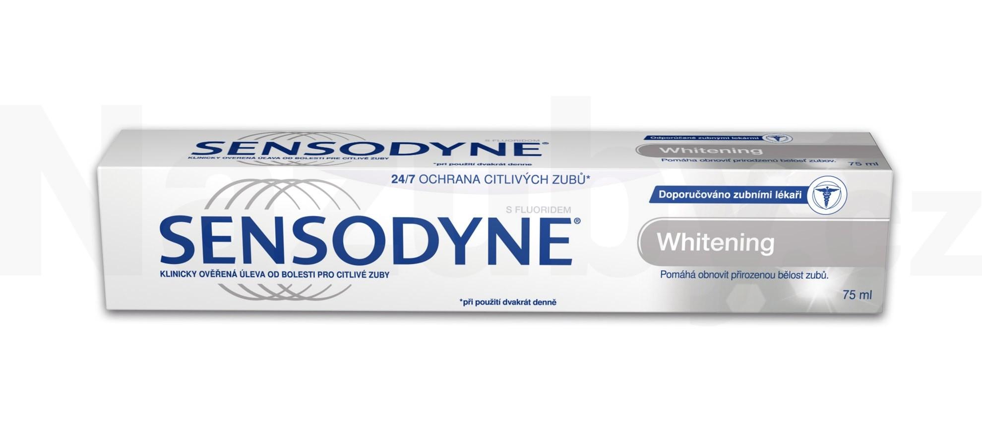 Sensodyne Whitening zubní pasta 75 ml
