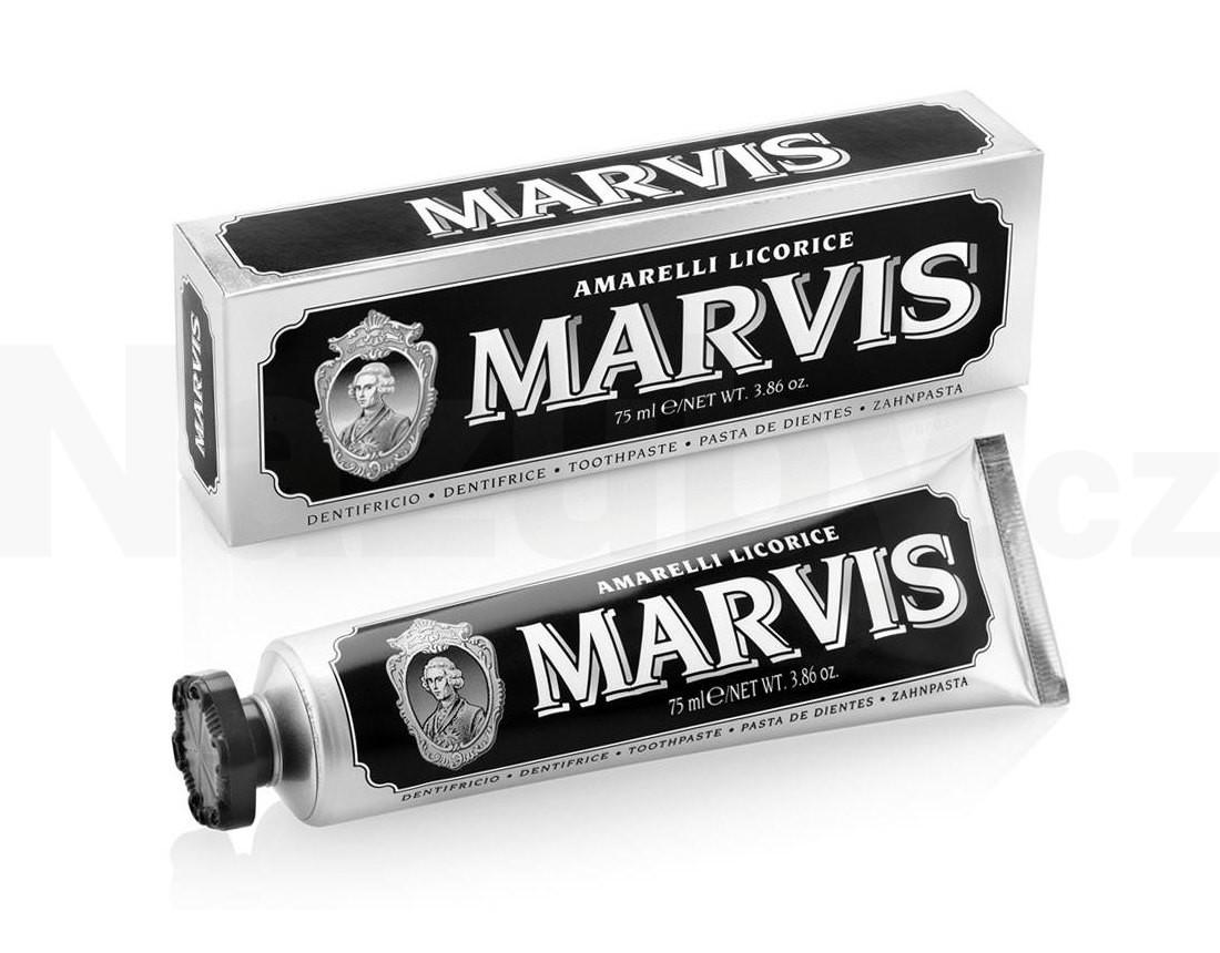 Marvis Amarelli Licorice Mint zubní pasta 75 ml